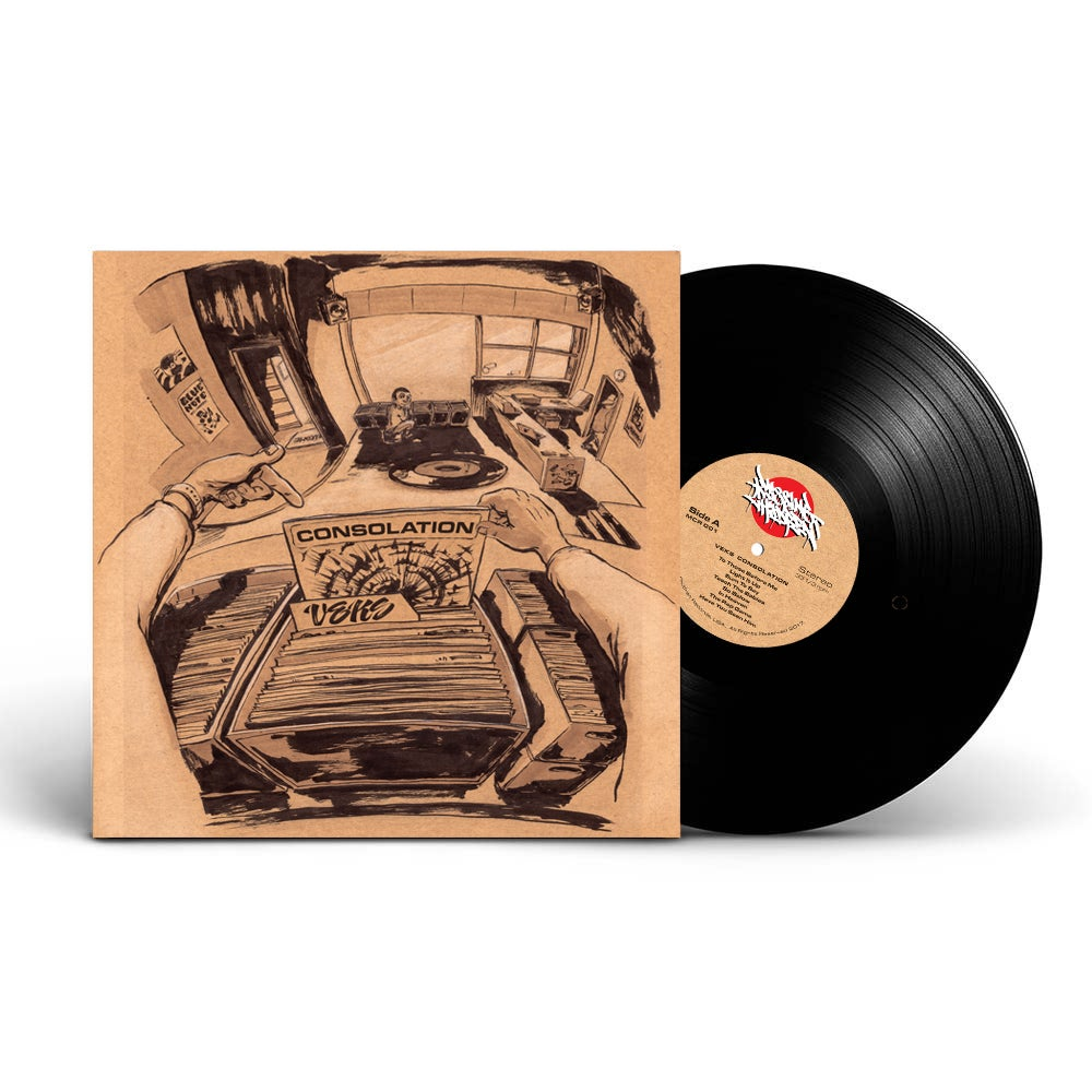 "Image of VEKS - CONSOLATION (12"" VINYL LP)"