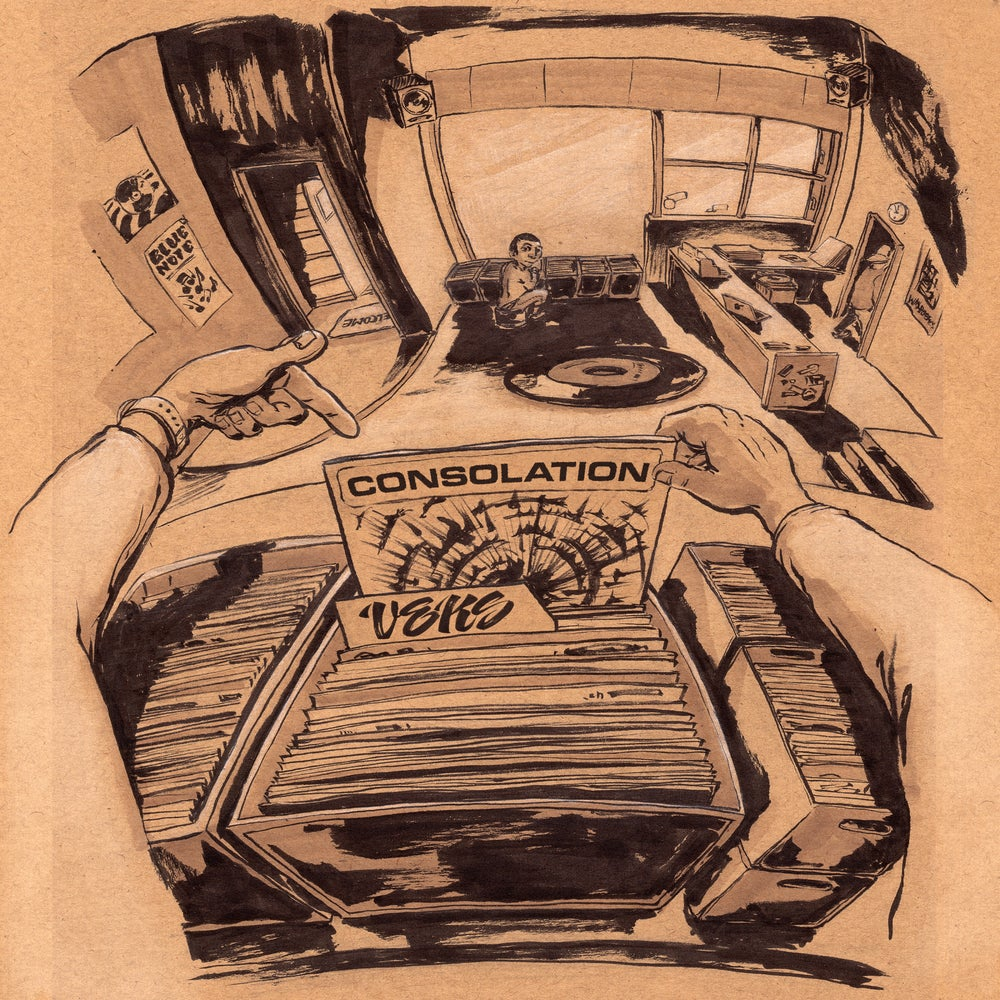 Image of VEKS - CONSOLATION (CASSETTE)