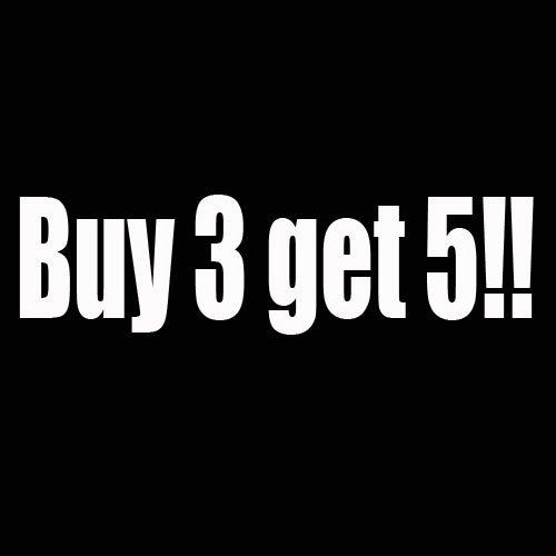 Image of Buy 3 get 5!! Special offer