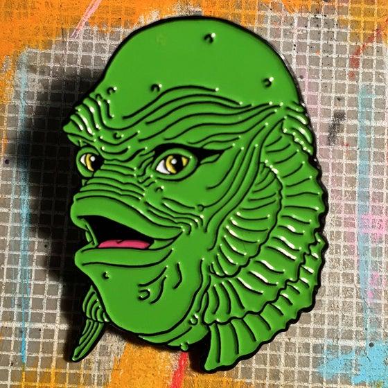 Image of Happy Creature Enamel Pin