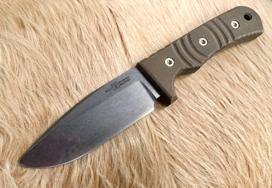 Image of Basic Field Knife Olive Micarta