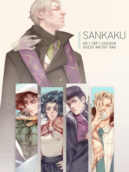 Image of 三角 -SANKAKU- Jojo Part 2 | 3 | 4 Autumn - Winter Lookbook