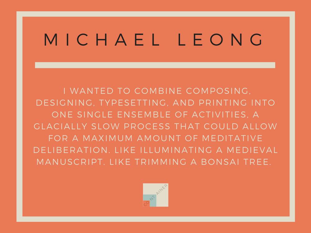 Image of On Suspicion That Windmills Are Books / Michael Leong