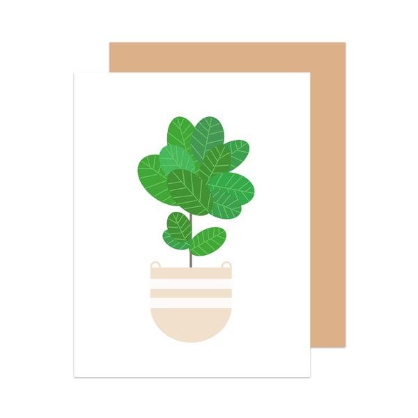 Image of Fiddle Leaf Fig Card