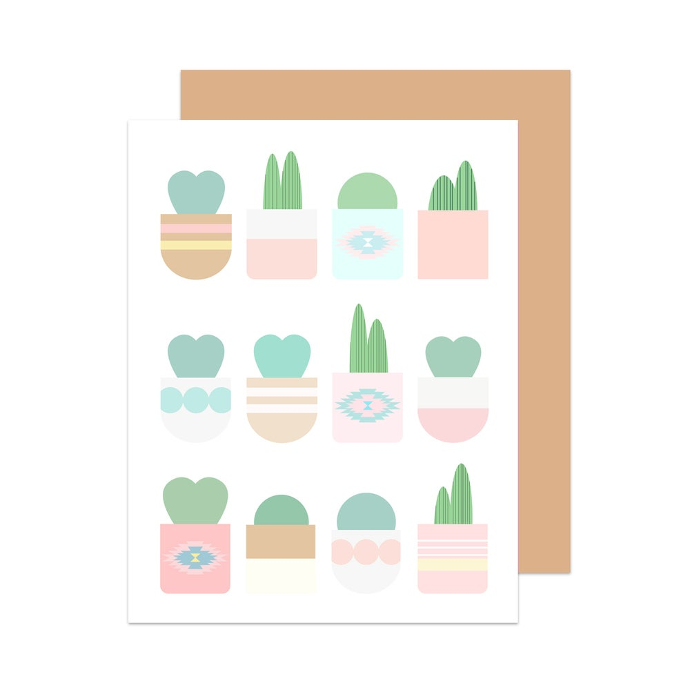 Image of Hello Cactus! Card