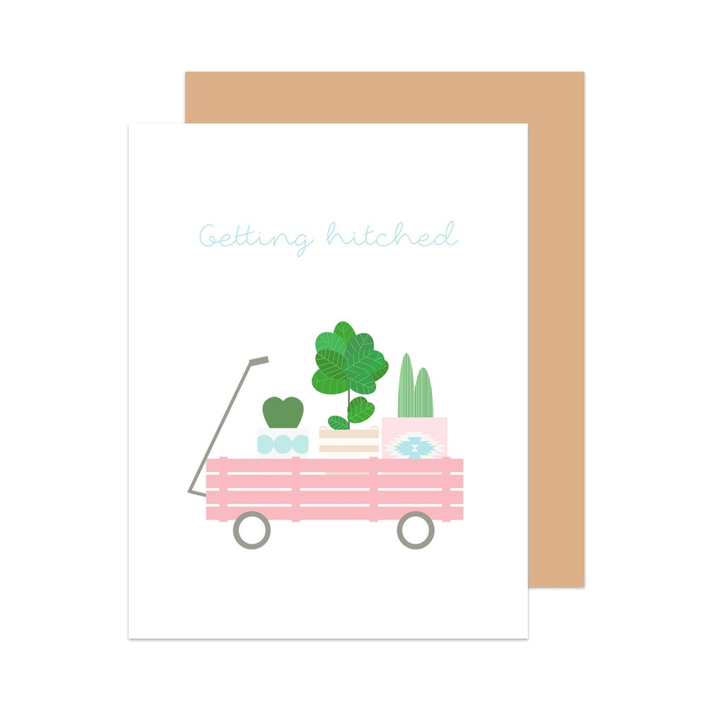 Image of Getting Hitched Card