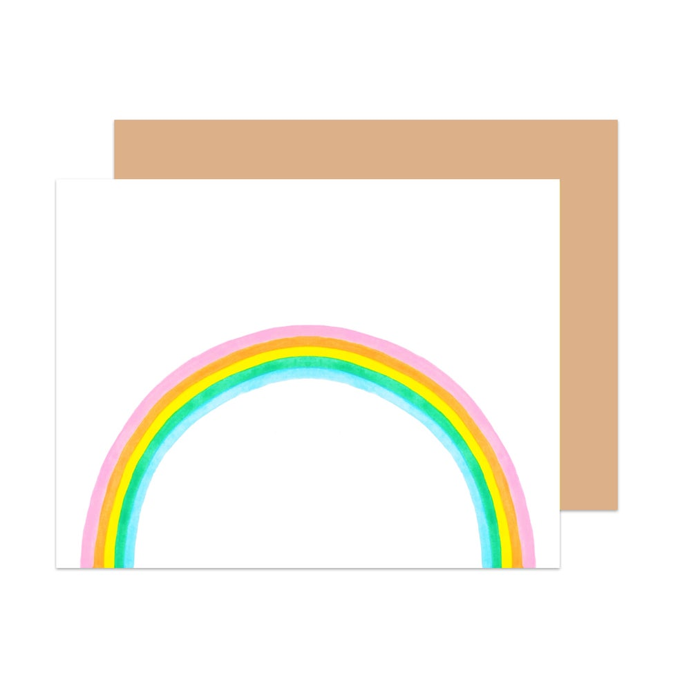 Image of Hello Rainbow! Card