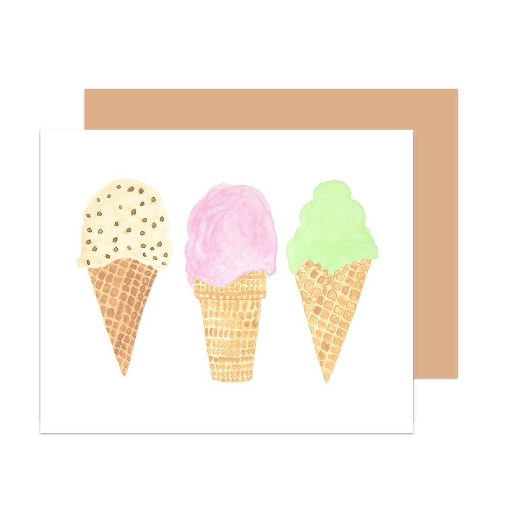 Image of Après Brunch Gelato Card