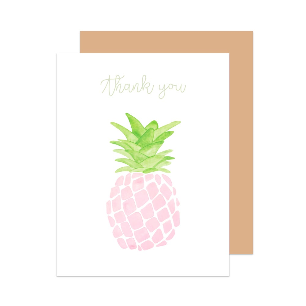 Image of Thank You Pineapple Card