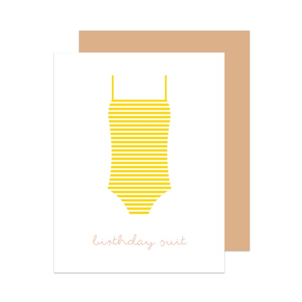 Image of Birthday Suit Card