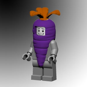 Image of Purple Space Carrot