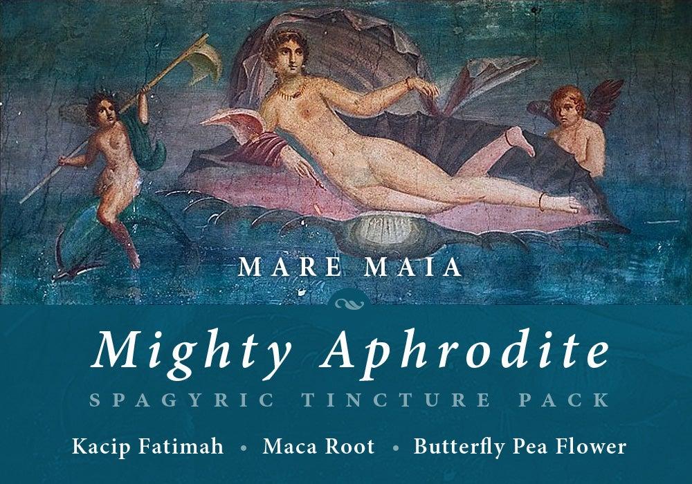 Image of MIGHTY APHRODITE PACK: Kacip Fatimah, Maca Root, Butterfly Pea Flower