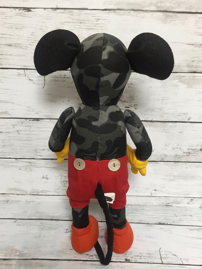 Image of A Bathing Ape × D24 (Tokyo Disney Sea) Mickey Doll limited 200