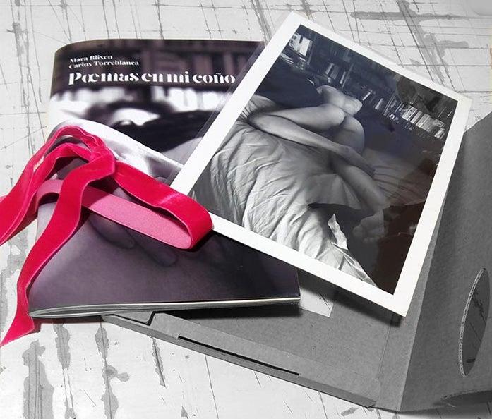"""Image of Poemario """"poemas en mi coño"""" edición especial"""