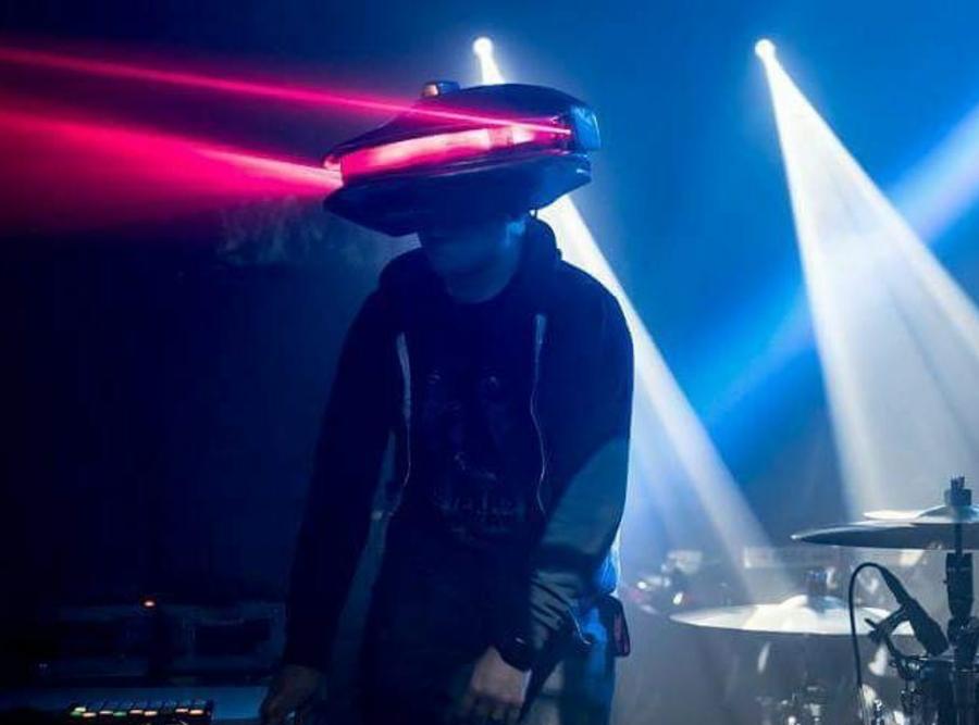 Image of Viking Props Killbot Laser Helmet