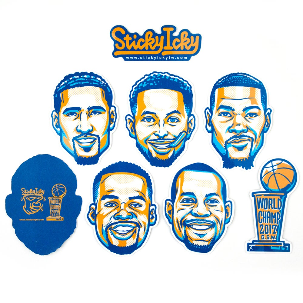 Image of 2017 GSW Champs Pack
