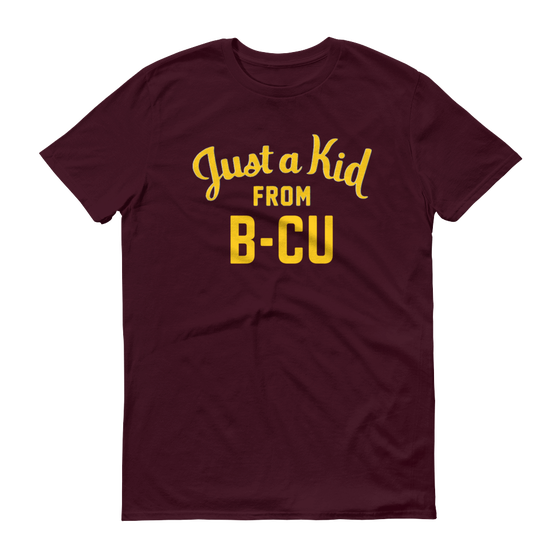 Image of A Kid From B-CU Maroon Shirt