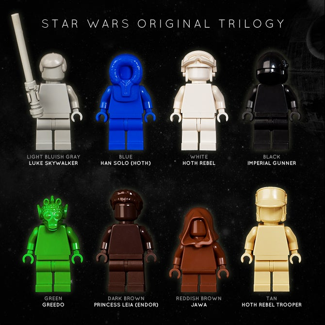 Image of STAR WARS ORIGINAL TRILOGY