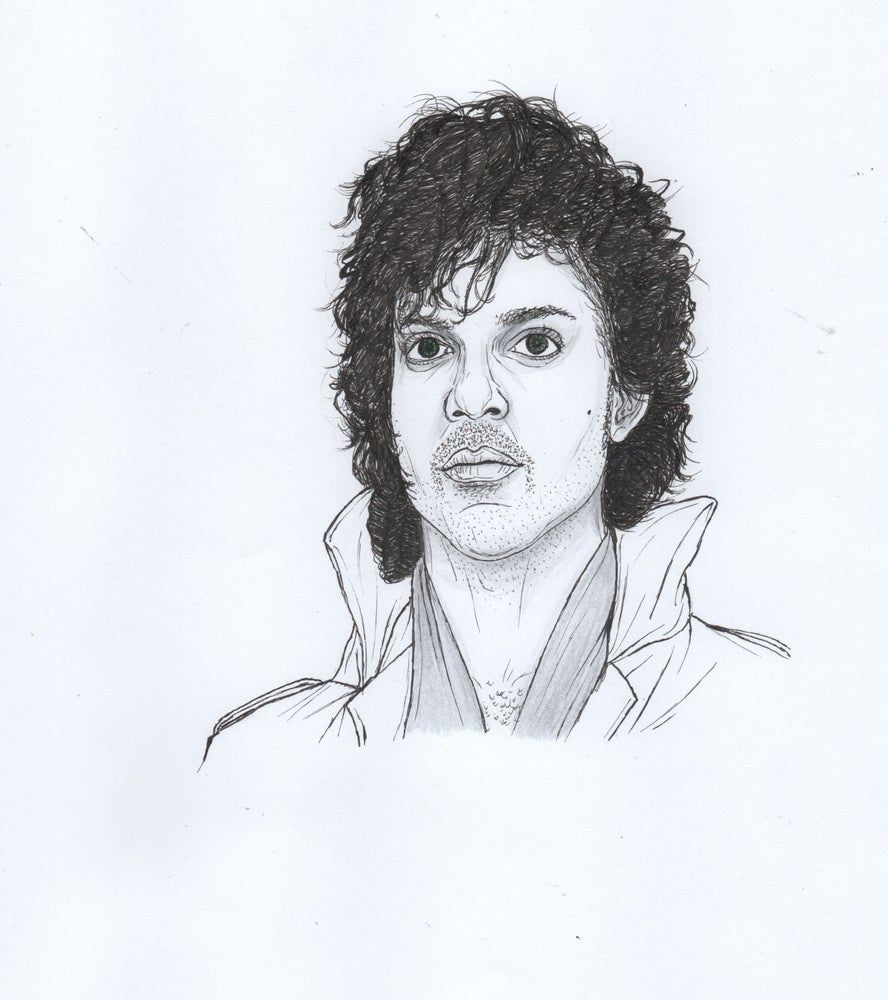Image of prince original portrait