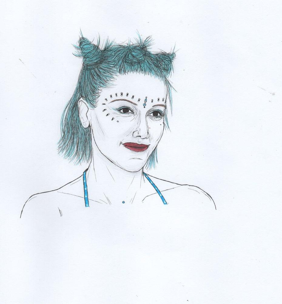 Image of gwen original portrait