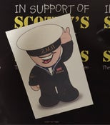 Image of #ScottysDay 'NAVY' Tattoo