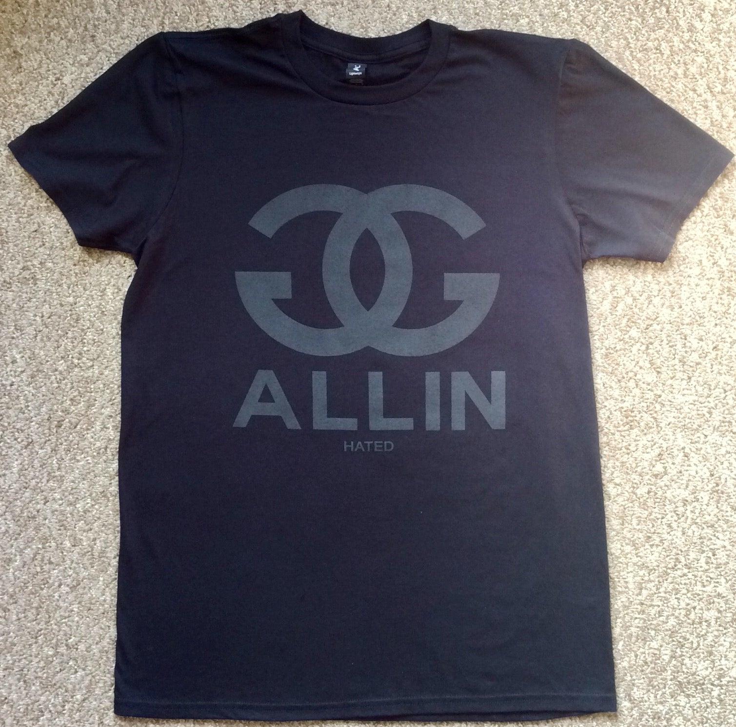 chanel shirt. image of gg allin - black on chanel tee chanel shirt d