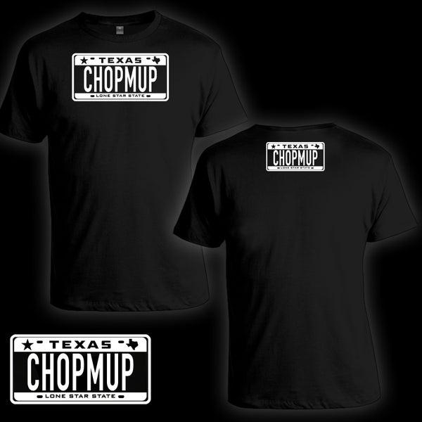 Image of CHOPMUP Logo Tee (Black)