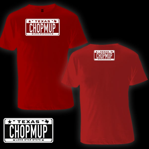 Image of CHOPMUP Logo tee (Red)