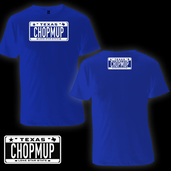 Image of CHOPMUP Logo Tee (Blue)