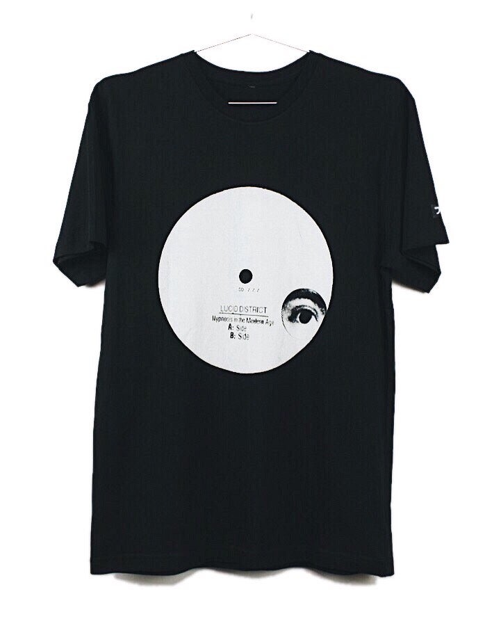 "Image of ""HYPNOSIS IN THE MODERN AGE"" TEE (BLACK)"