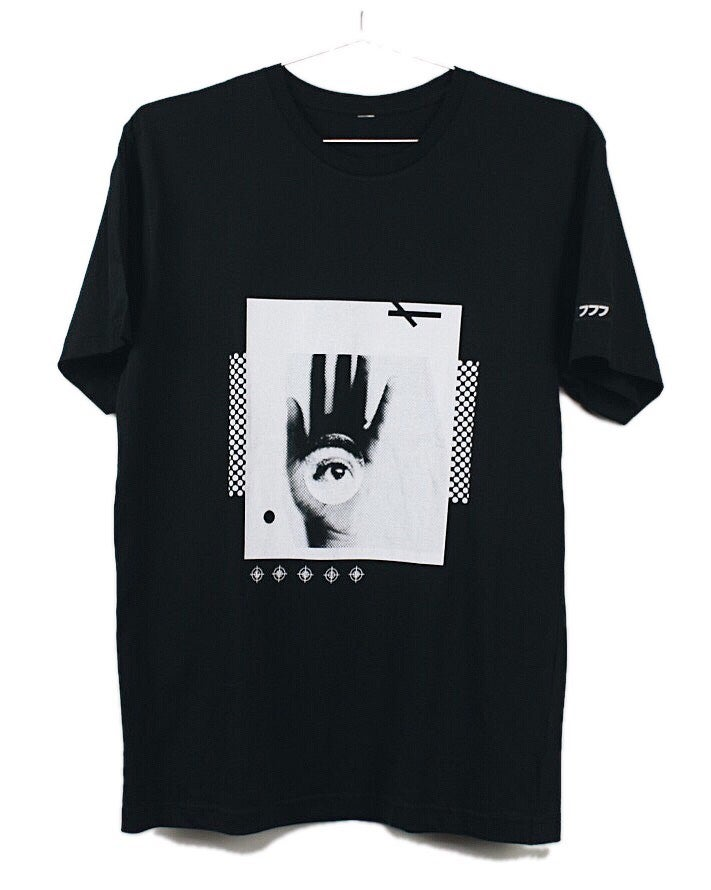 "Image of ""ETERNAL"" TEE (BLACK)"