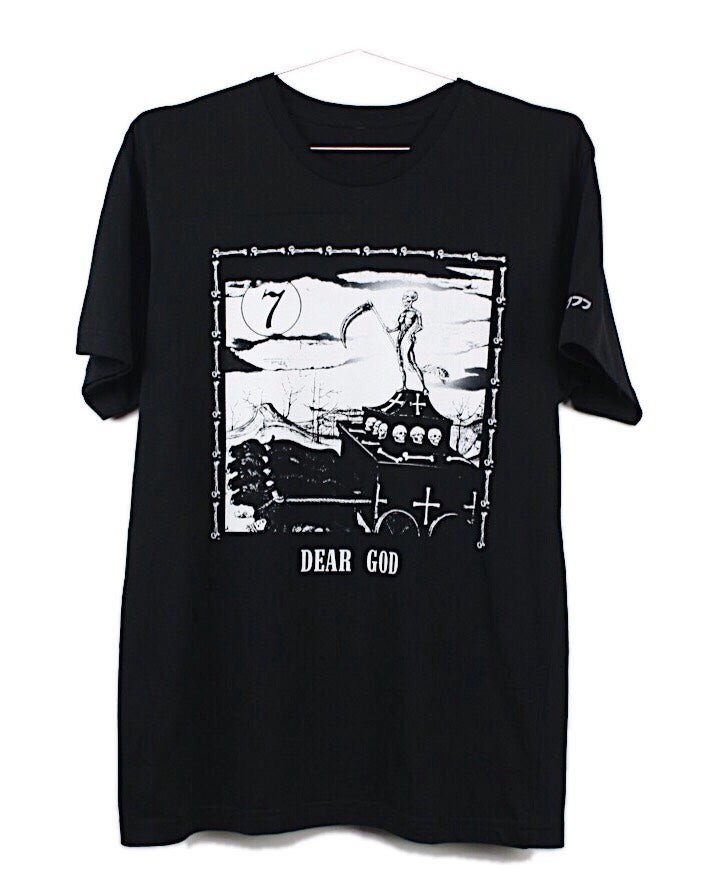 "Image of ""DAY 7"" TEE (BLACK)"