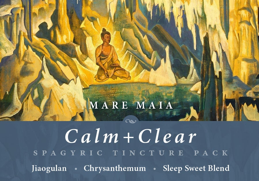 Image of CALM+CLEAR PACK: Jiaogulan, Chrysanthemum and Sleep Sweet Blend