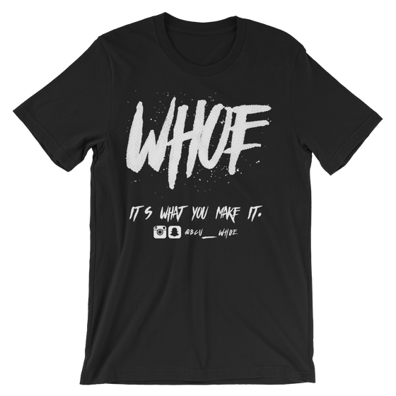Image of WHOE® Black T-shirt