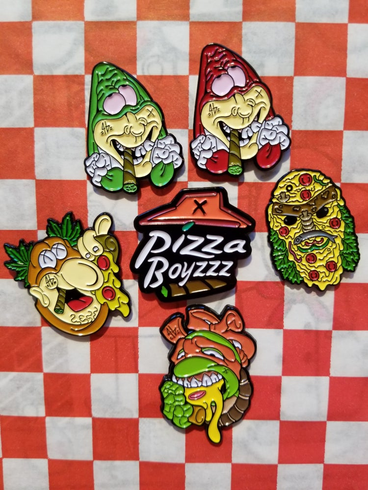 Image of SUMMER OF SAUCE PINS (6 CHOICES OR FULL SET)