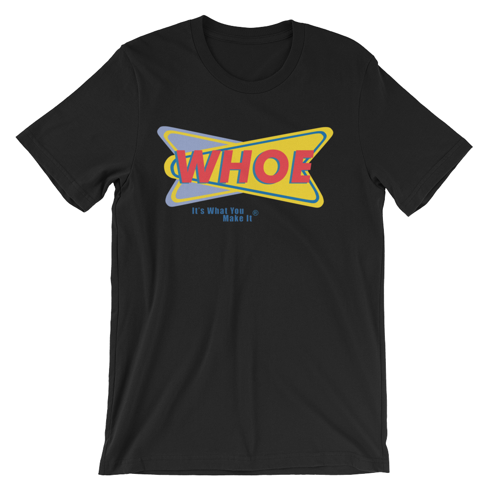 Image of WHOE® America's Favorite Homecoming Shirt (Black)