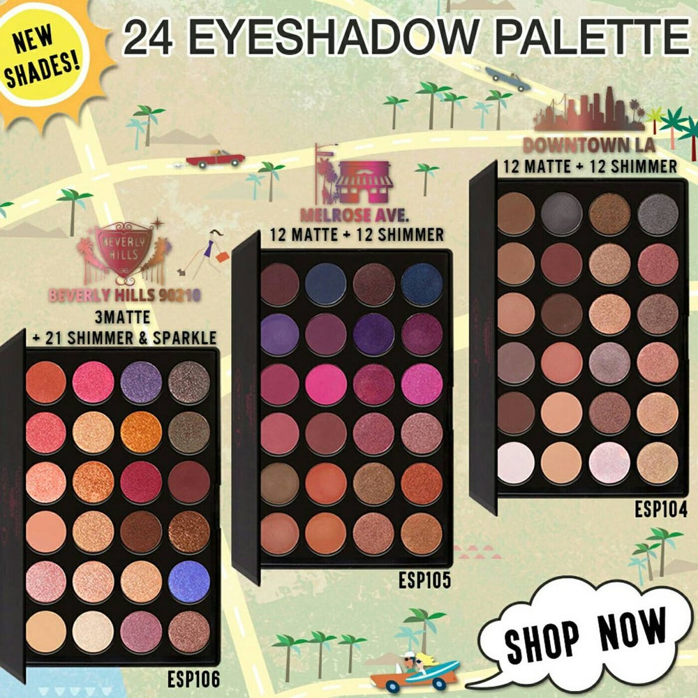 Image of J.Cat Beauty Eyeshadow Palettes