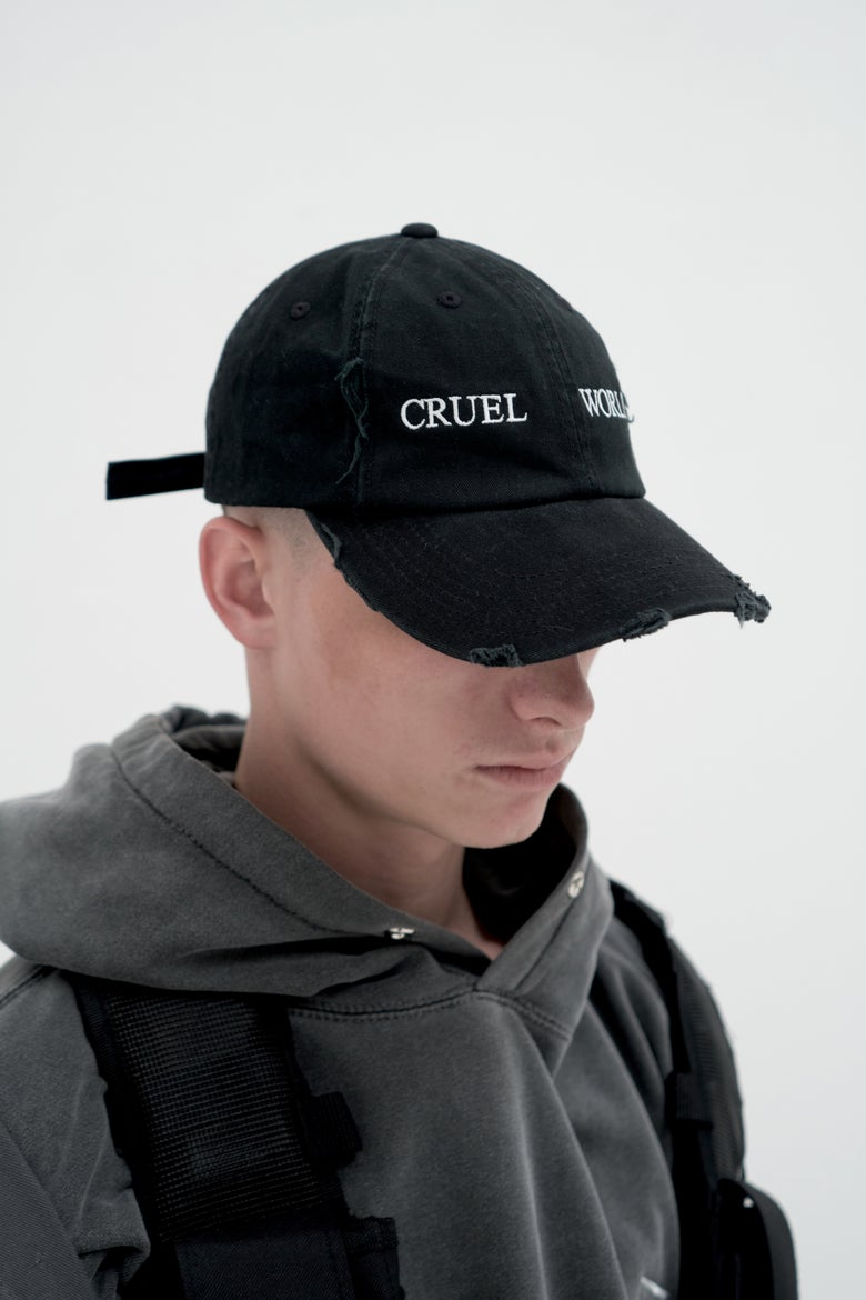 "Image of ""CRUEL WORLD"" Hat"