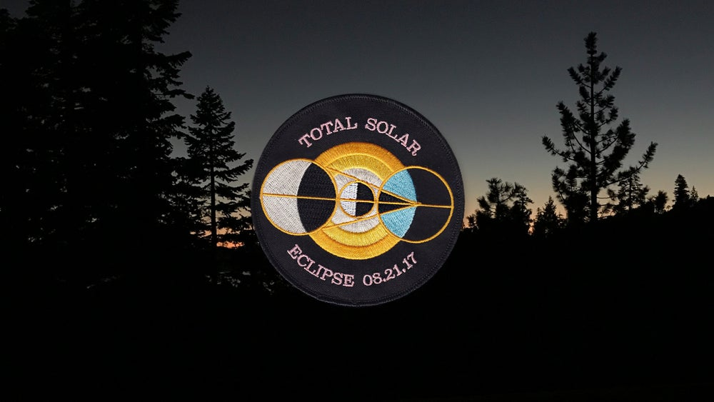 Image of Solar Eclipse Patch