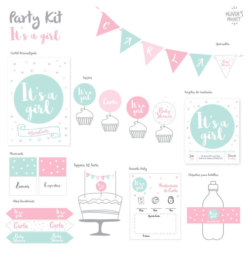 Image of Party Kit Baby Shower