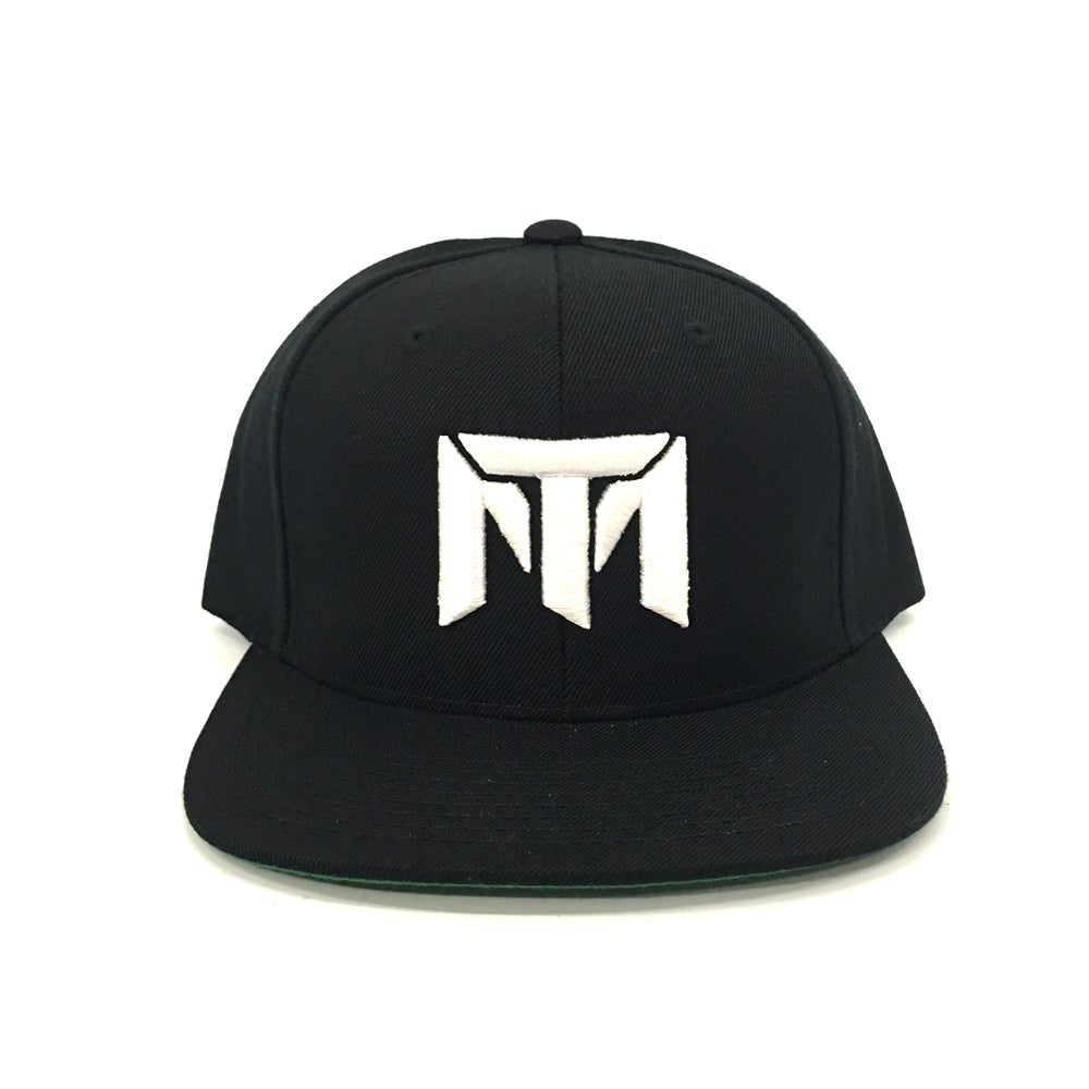 Image of MT Logo Hat (Black/White)