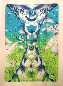 Image of MARS RED SKY (Hellfest 2017) screenprinted poster