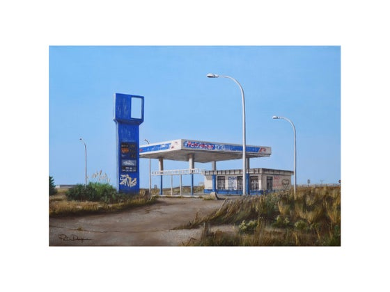 Image of Gasolinera (Limited edition 15 Art Print)