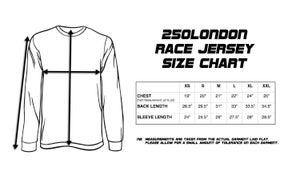 Image of Sideburn x 250London Race Shirt - Black and White
