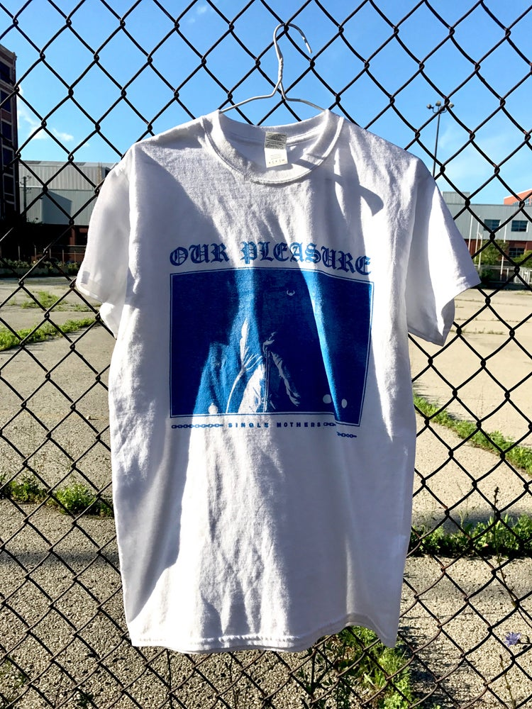 Image of Our Pleasure - Blue/White Short sleeve