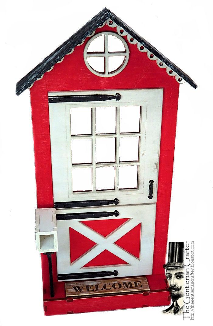 Image of #106 Fairy Lane-Fairy Door Wood Kit