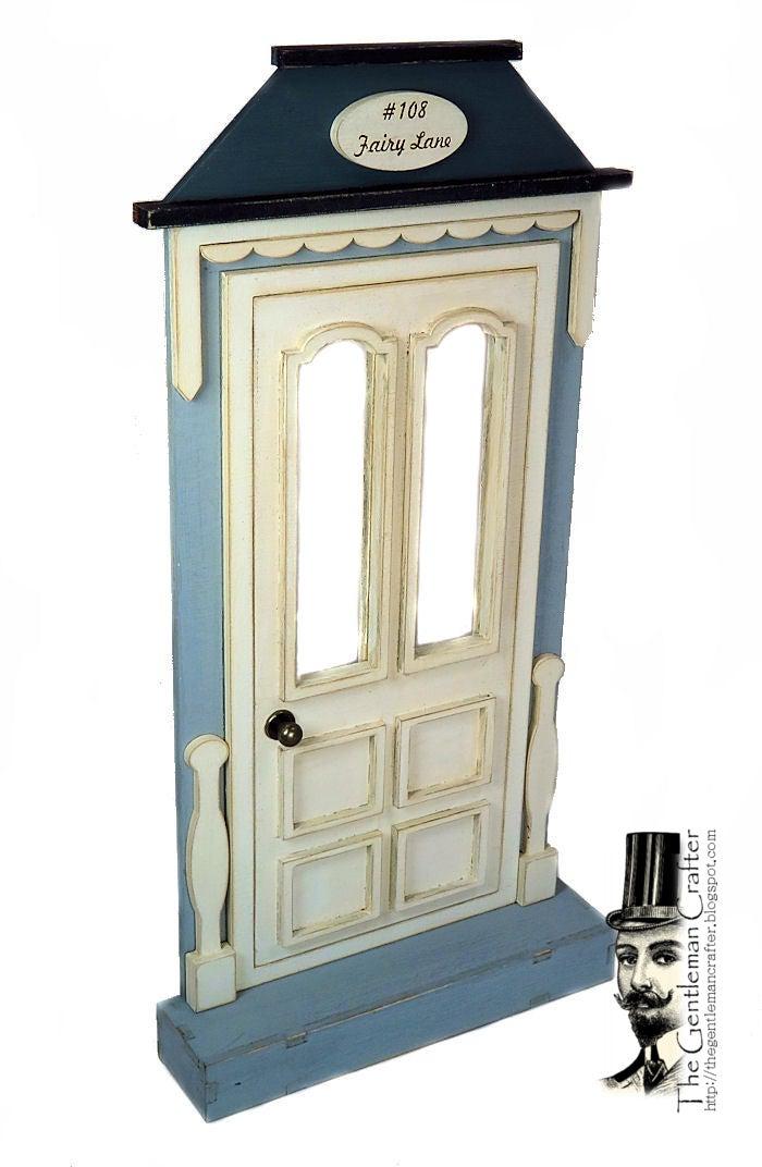 Image of #108 Fairy Lane-Fairy Door Wood Kit