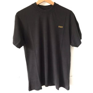 Image of Vetememes Black Staff Tee [Pre-Order]