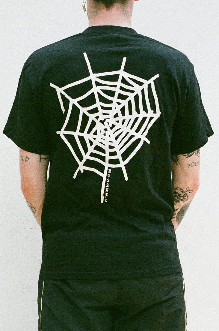 Image of black WEB T
