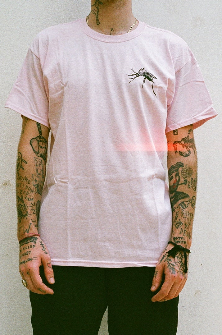 Image of pink WEB T Shirt